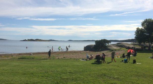 Schwedisches Wetter und Natur